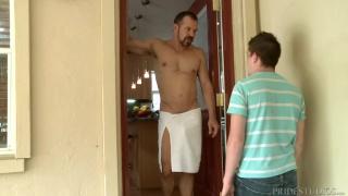 jordan gets fucks by his friend's dad
