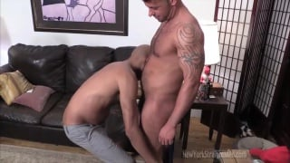 mario really enjoys a wet mouth on his cock