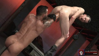 David Benjamin & Christian Lesage at Club Inferno Dungeon
