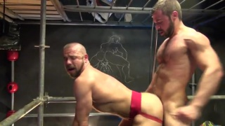 jose forces his thick dick inside felipe's ass