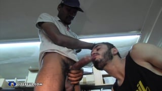 Marc humper is addicted to huge cocks