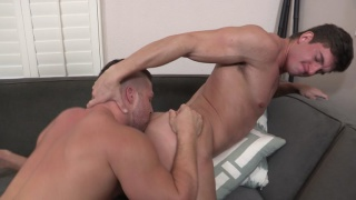 brodie stuffs his big cock in joey's ass
