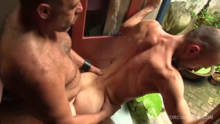 muscle daddy sailor blue gets fucked by jason park