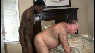 daddy's ass is hungry for black dick