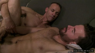 Rodney Steele fucks sexy hunk Brendan Patrick
