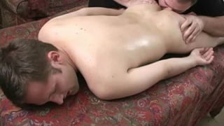 Bisexual stud Cameron gets massage