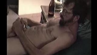 Vietnam vet jacks his dick in first JO video