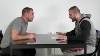 hans berlin fucks his way through a job interview