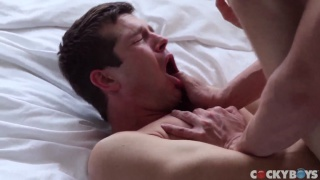 real-life lovers Colby Chambers & Mickey Knox fuck