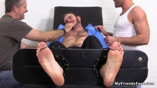 bound christian wilde gets tickled