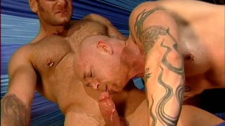 buck angel in threeway in cirque noir