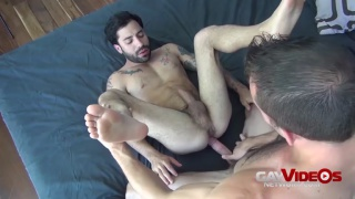 Jimmie Slater and Nick Cross bare fuck each other