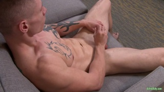 inked lad films his JO audition video