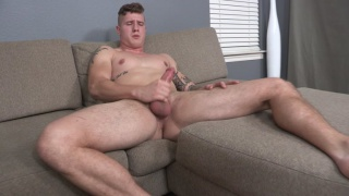 inked stud cort beats off at sean cody