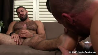 Hugh Hunter Worships Ricky Larkin