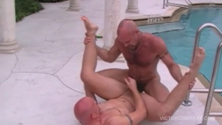 Chad Brock bare fucks Cole Sexton's round meaty ass