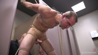 bathroom cruiser gets strung up and edged
