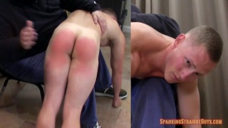aaron wanted more money so he got a longer spanking
