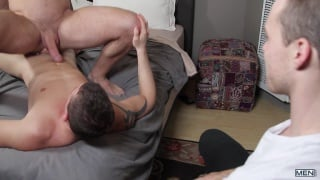 Alex Mecum gets fucked by Darin Silvers
