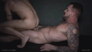 ben statham returns to porn to fuck rocco steele's cock
