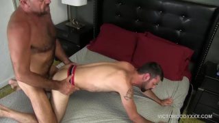 everybody takes a turn fucking cody valentine's ass
