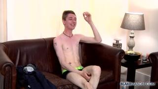 koda fingers his ass and jacks off