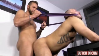 paolo can't get enough of Frank Valencia's uncut cock