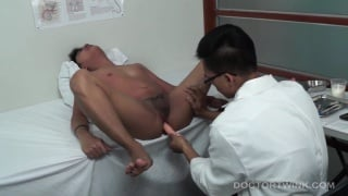 doctor vahn gives patient a prostate exam