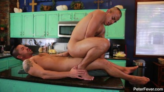 Rey Luis teaches Dominic Pacifico some seductive moves