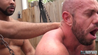 matt stevens takes a big black cock raw