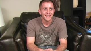 Military stud Justin jerks off