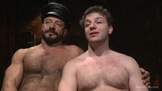 New dom vinnie stefano pushes his slave to the limit