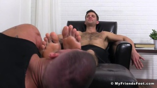 cole's Foot Slave Gets Off