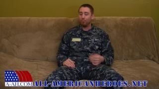 boatswain mate jacks off in uniform