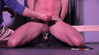 rope man JJ gives Bryan cole and handjob
