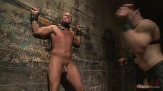 Slave #998 awaits his new master