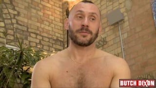 French scallywag Robin Fanteria jacks his dick