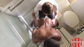 jacob fucks black bottom in his bathroom