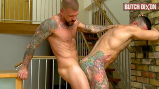 hairy studs fucking raw at Butch dixon