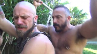 Alessio Romero breeds Cy Kohen's hungry ass