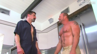 david anthony fucks casey williams in the kitchen