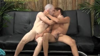 straight friends suck each other for first time