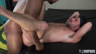 Alex Mason gets drilled by hung Ray Diesel