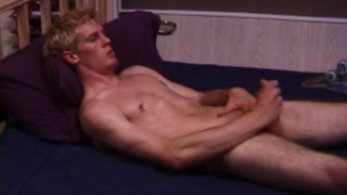 Lip-pierced skater boy Jonathan Priest jerks his dick