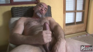 brian davilla jerks his beautiful fat cock