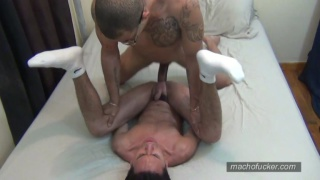 red fucks angelito's boy pussy