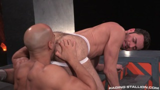 hairy power bottom dario beck gets fucked by sean zevran
