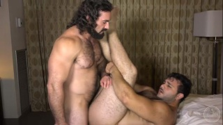 long-haired top fucks an italian bottom