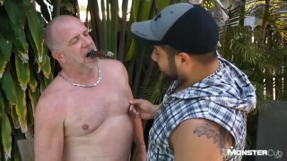 horny step dad catches step son jacking off