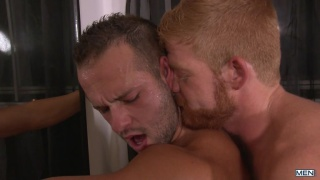 ginger straight man fulfills his fantasy of fucking a guy